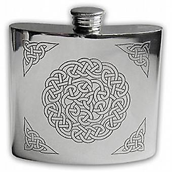 Celtic Knot Hip Flask