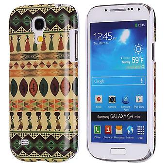 Tribal land in het harde plastic hoesje voor Samsung Galaxy S4 mini i9190