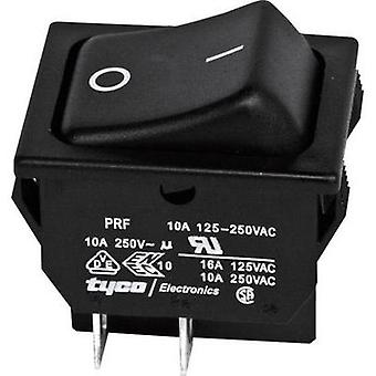 Toggle switch 250 Vac 10 A 2 x Off/On TE Connectivity 1634201-2 latch 1 pc(s)
