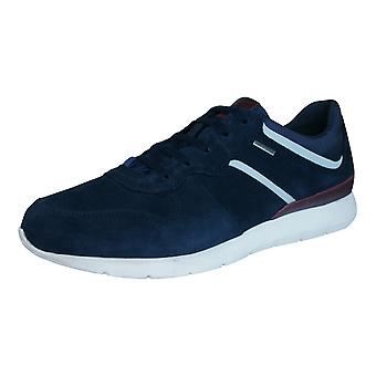 Geox U Gektor B ABX B Mens Waterproof Trainers / Shoes - Navy