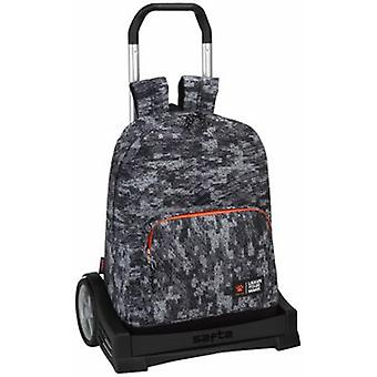 Safta Mochila 754 Con Carro Evolution Kelme Team