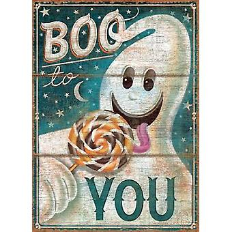 Boo to You Poster Print by PS Art Studios