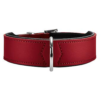Serraje 50 Hunter Basic Collar rojo 39 mm X 35-43 cm