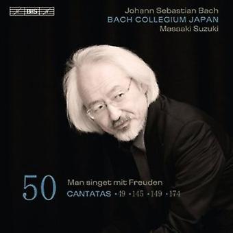 J.S. Bach - Bach: Cantates, Vol. 50 - Bwv 49, 145, 149, 174 [SACD] USA importeren