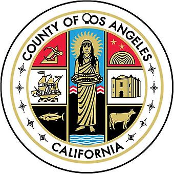 Californien La Los Angeles County Seal bil luftfriskere