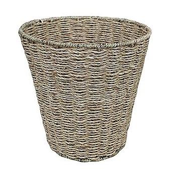 Seagrass Round Waste Paper Basket