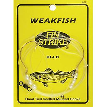 Fin Strike Hi-Lo Weakfish Rig
