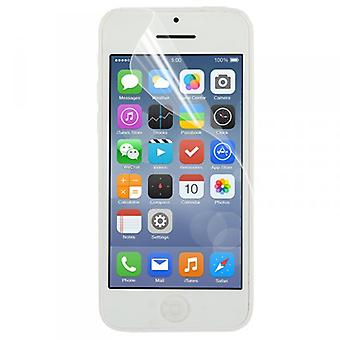 Screen protector for Apple iPhone 5 C accessories + polishing cloth