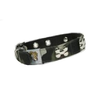 Doggy Things CAMOFALGE COLLAR MILITAR TALLA 36 CM/14