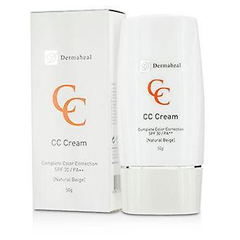 Dermaheal CC Cream SPF30 - Natural Beige - 50g/1.7oz