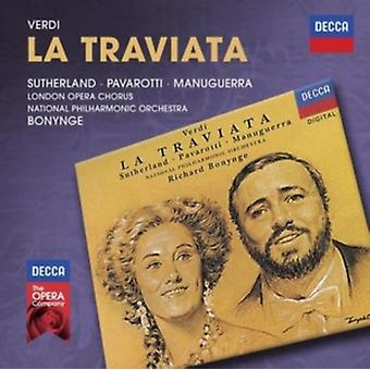 Verdi: La Traviata by Richard Bonynge