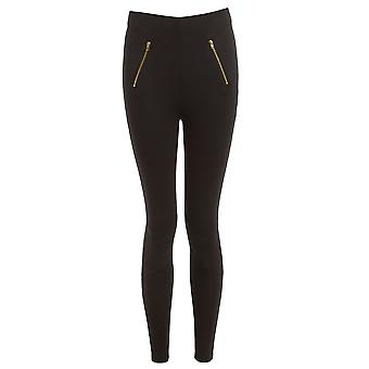 Lost Inc Detail Zip Leggings