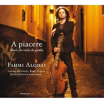 Sanz/Murcia/Marais/Monsieur De Sainte-Colombe - Piacere: Music for Viola Da Gamba [CD] USA import