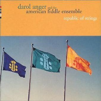 Darol Anger & the American Fiddle Ensemle - Republic of Strings [CD] USA import