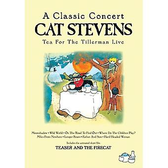 Cat Stevens - Tea for Tillerman Live [DVD] USA importen