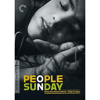 People on Sunday [DVD] USA import