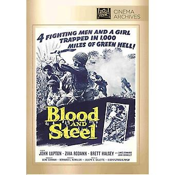 Blood & Steel [DVD] USA import