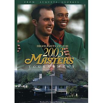 Masters 2003-turnering højdepunkter [DVD] USA importerer