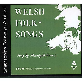 Meredydd Evans - Welsh Folk Songs [CD] USA import