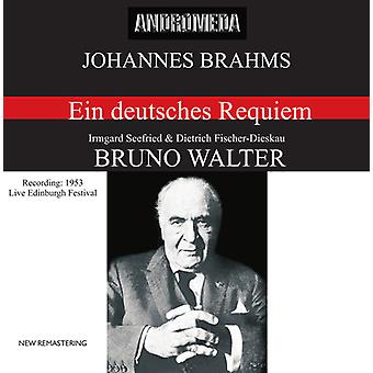 J. Brahms - importation USA Ein Deutsches Requiem Op.45 [CD]