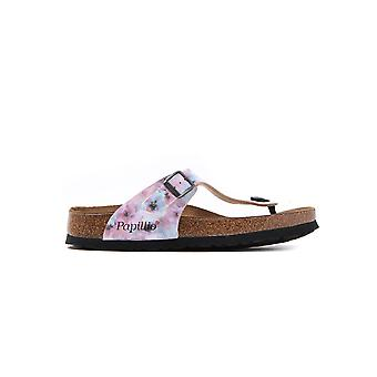 Pink Birkenstock 1005925 Gizeh Regular Fit Pixel