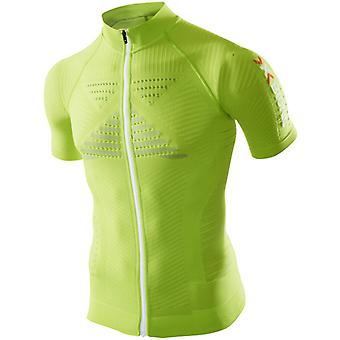X-BIONIC Men Effektor Biking Powershirt SS Full Zip - O20601-XIR