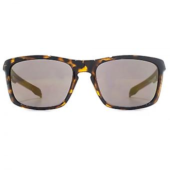 FCUK Keyhole Bridge Square Sunglasses In Tortoiseshell