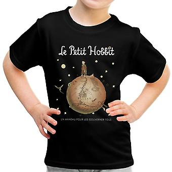 The Hobbit Little Prince Le Petit Hobbit Kid's T-Shirt