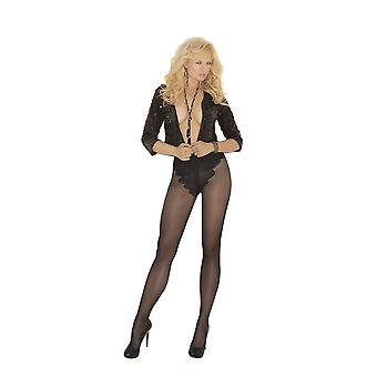 Elegant Moments EM-1715 French cut support Pantyhose also in plus size