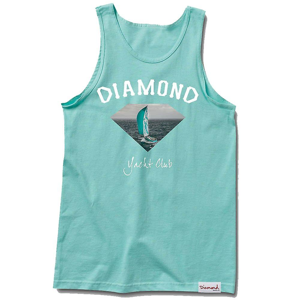 Diamond Supply Co OG Yacht Club Tank Top Diamond Blue
