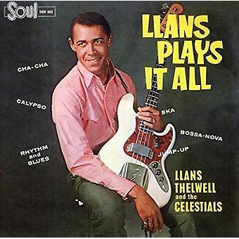 Thelwell, Llans / hans Celestials - Llans spiller det alle [CD] USA import