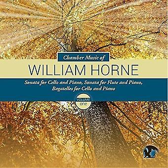 Horne, William / Crosmer, Jeremy / Fang, Jeannette - kammermusik af Willliam Horne 1 [CD] USA import