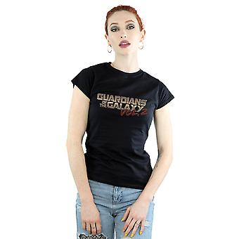 Marvel Women's Guardians Of The Galaxy Retro Logo T-Shirt
