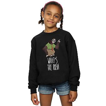 Disney Girls Zootropolis What's The Rush Sweatshirt