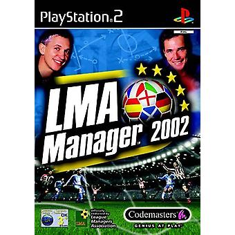 LMA Manager 2002 (PS2)