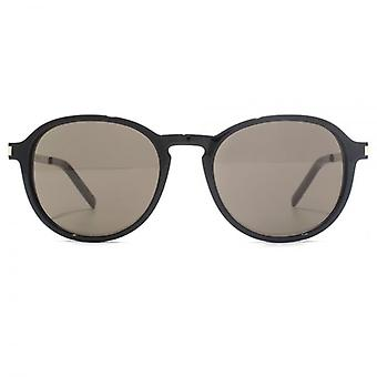 Saint Laurent SL 110 Sunglasses In Black Grey