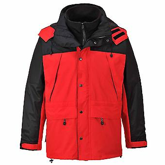 sUw - Orkney 3 in 1 Two-Tone Breathable Waterproof Jacket With Hood