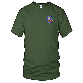 USAF Airforce - 404th Fighter Squadron groot geborduurd Patch - Mens T Shirt