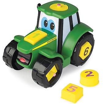 Tomy John Deere Tractor Play & Teaches