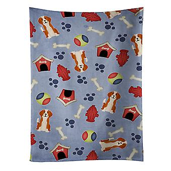 Dog House Collection English Foxhound Kitchen Towel
