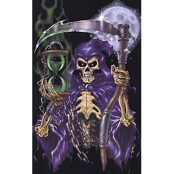 Black Light - Grim Reaper Time Keeper Poster Poster Print