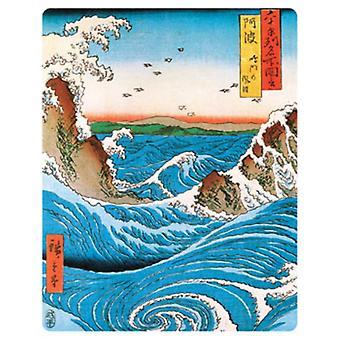 Hiroshige Navaro Rapids Poster Poster Print