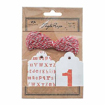 Heaven Sends Letters & Numbers Gift Tags