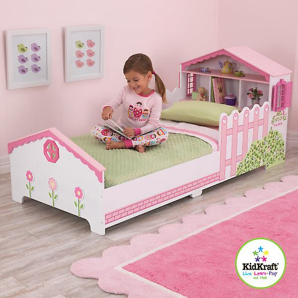 kidkraft puppe haus kleine kinder bett fruugo. Black Bedroom Furniture Sets. Home Design Ideas
