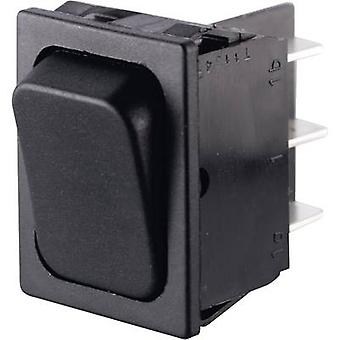 Toggle switch 250 V AC 6 A 2 x On/(On) Marquardt 0