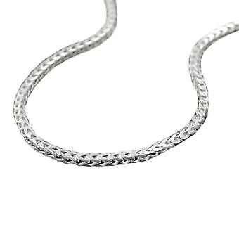 Necklace foxtail chain silver 925 50cm