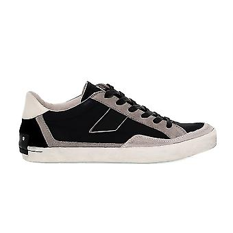 Crime London men's 110923A0Y black cloth of sneakers