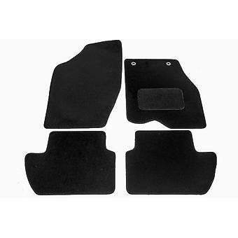 Fully Tailored Car Floor Mats - Peugeot 307 SW 2002-2018 Black