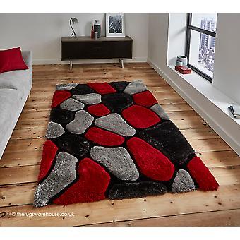 Schustert grau roten Teppich