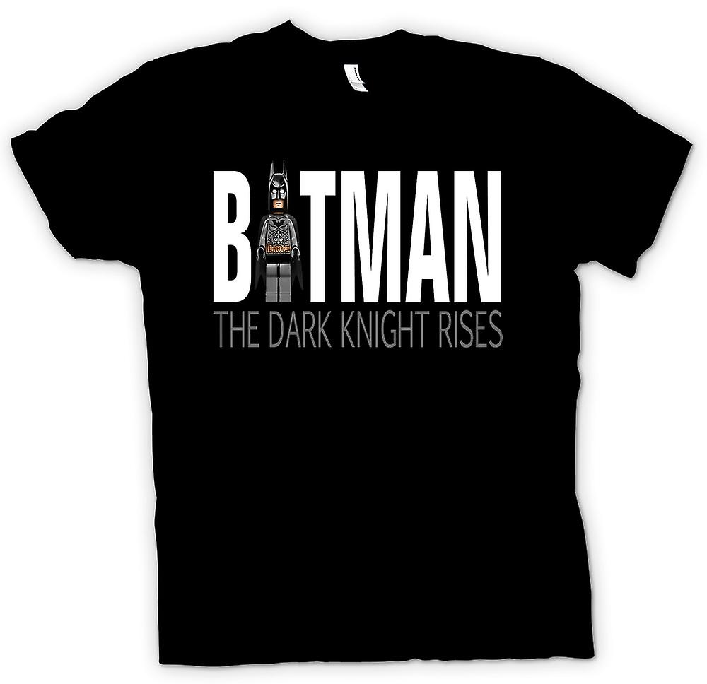 Mens T-shirt - Batman Lego - Dark Knight Rises